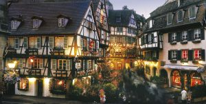 Christmas market Alsace